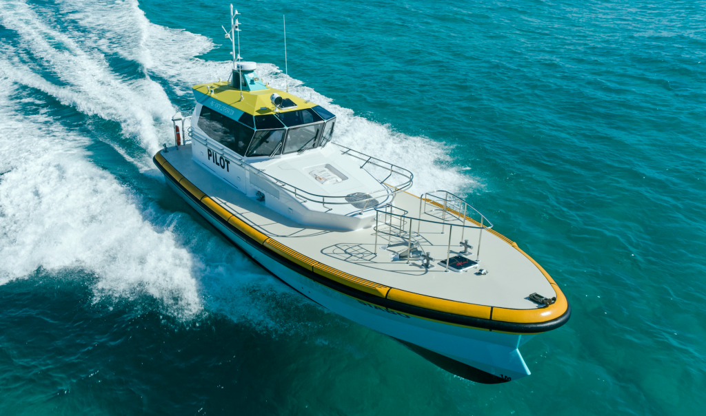 Norman R. Wright & Sons launch new 14.2m Pilot Boats