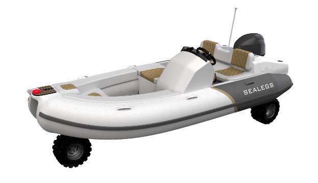 Sealegs rolls Out lightweight amphibious tender