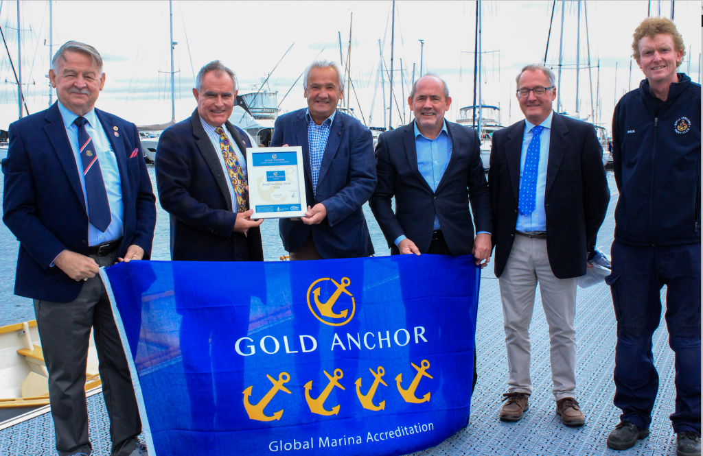 Gold Anchor award adds to RGYC's achievements
